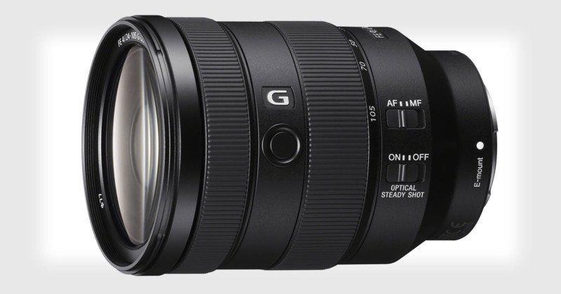 Sony Announces 24 105mm F 4 And 400mm F 2 8 Full Frame Lenses Standard Zoom Lens Zoom Lens Mirrorless Camera