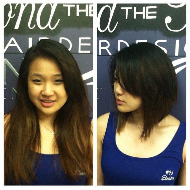 Bob Lob Haircut Makeover By Nicole At Beyond The Fringe Hillsborough