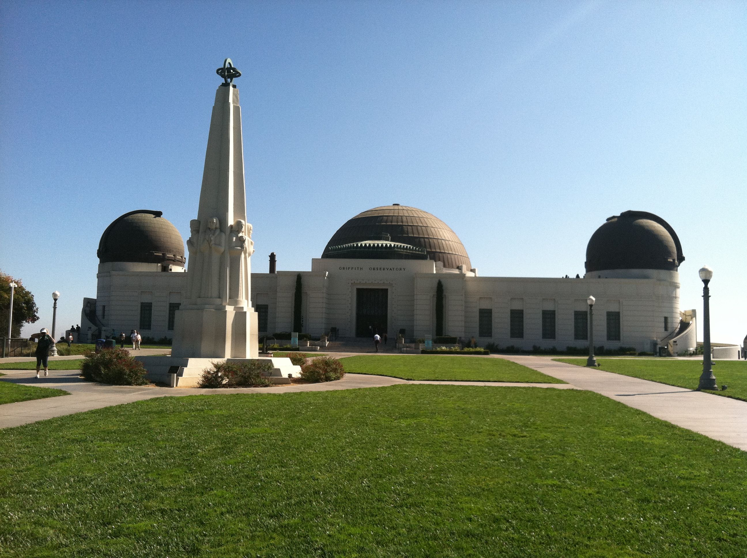 Griffith Observatory Los Angeles Ca Griffith Observatory Building Architecture