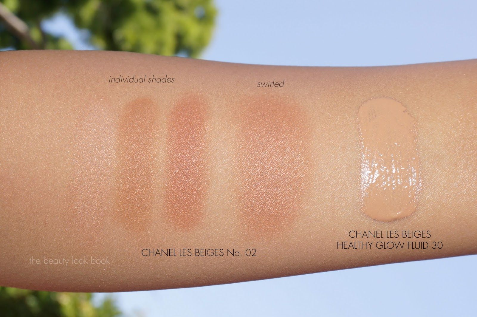 Chanel Les Beiges Healthy Glow MultiColour No. 02