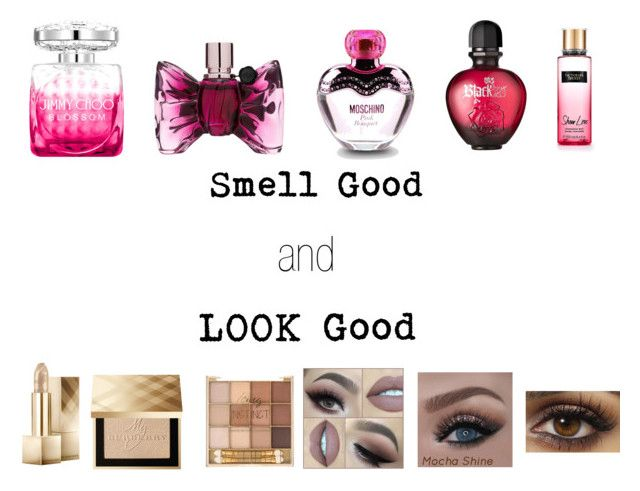 """""""look smell"""" by sakeenah1 ❤ liked on Polyvore featuring Jimmy Choo, Viktor & Rolf, Moschino, Paco Rabanne and Burberry"""