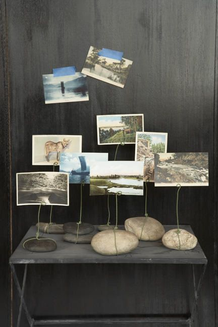 Photos on rocks
