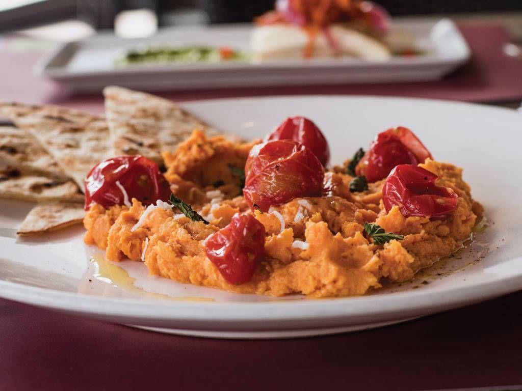 Curried Sweet Potato Hummus 9 Tapas Fine Dining Tucson