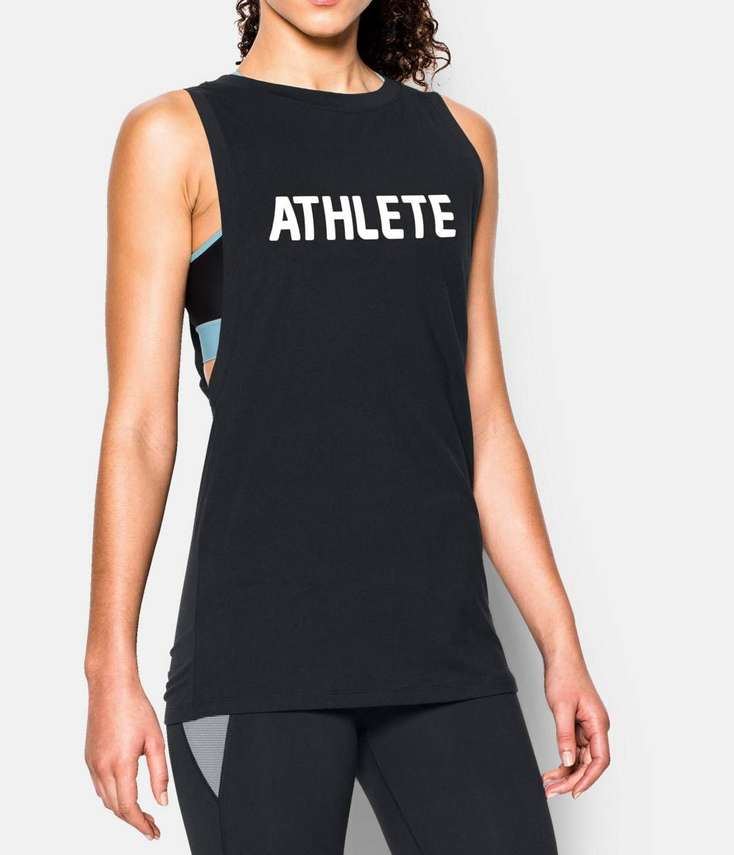0861de81c9 Shop Under Armour for Women's UA Athlete Muscle Tank in our Womens ...
