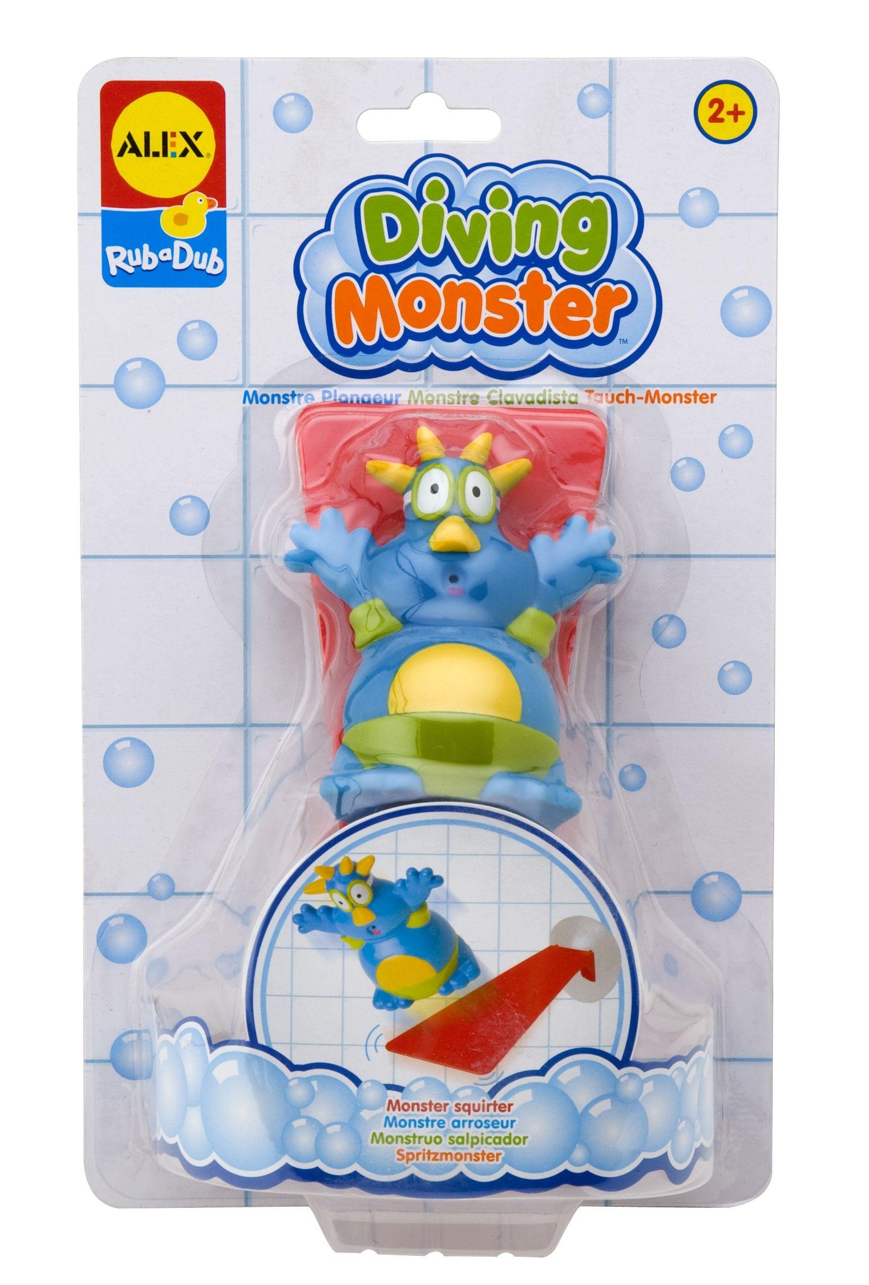Diving Monster | Bath Toys | Pinterest | Bath toys, Interactive toys ...