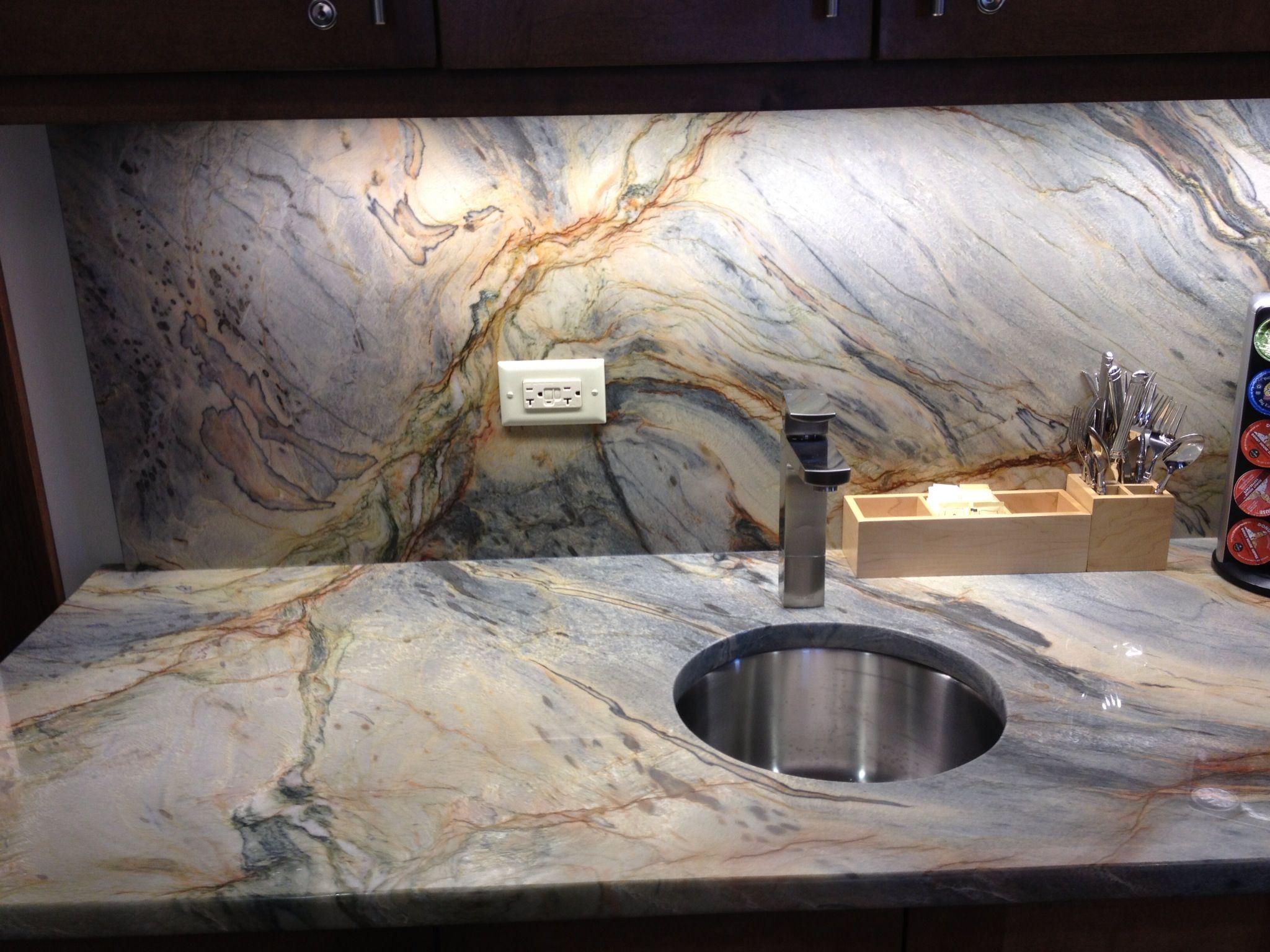 Fusion Granite Top Backsplash By