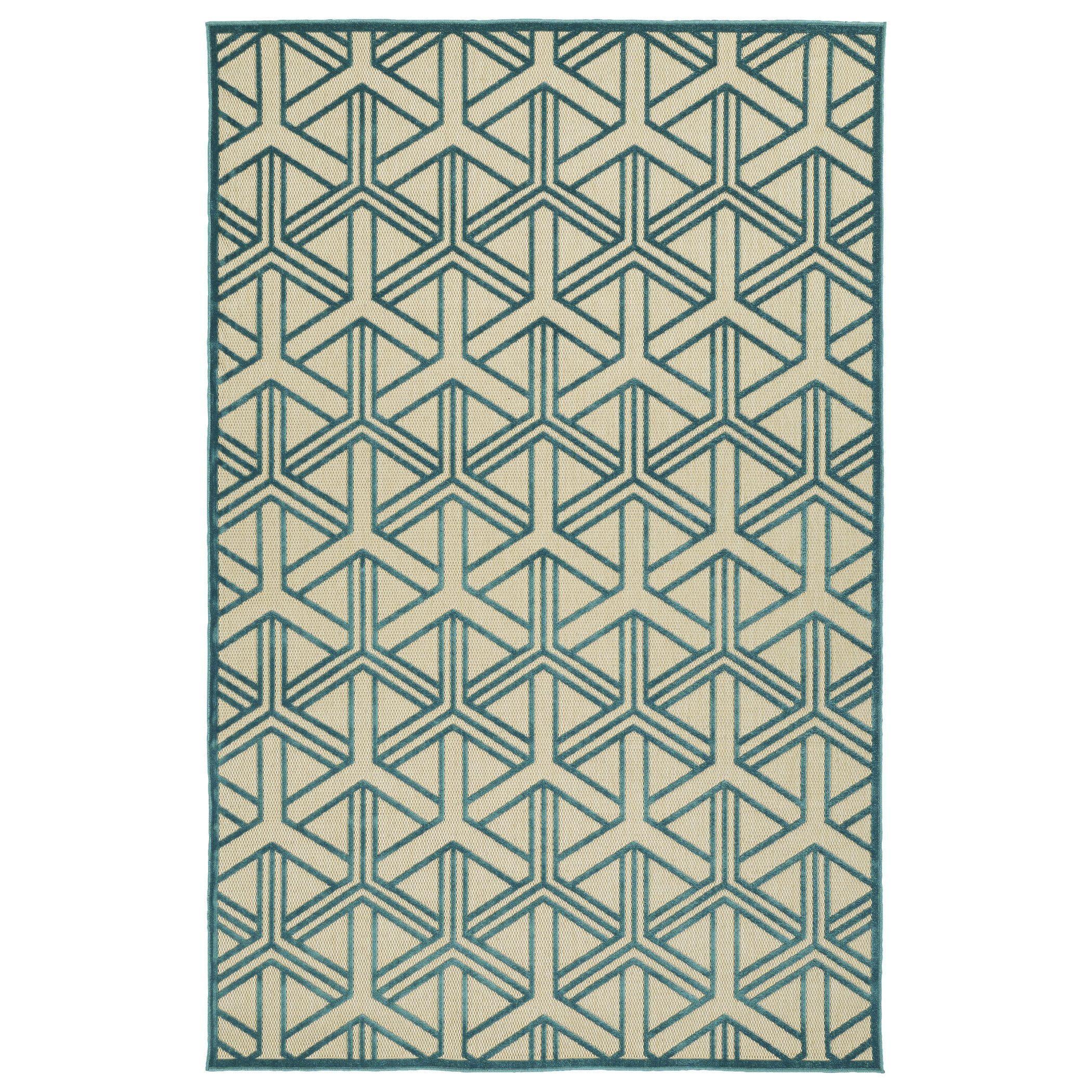 Kaleen rugs indooroutdoor luka blue dimensions rug u x u