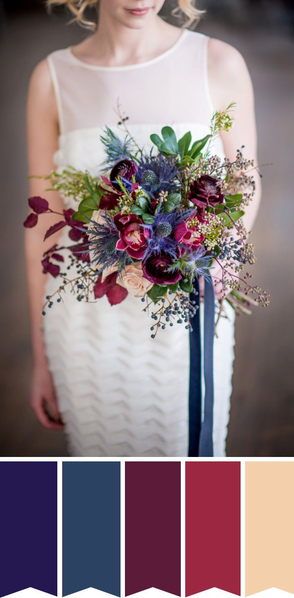 Inspired by the Season: 7 Autumn Bridal Bouquets | OneFabDay.com Ireland