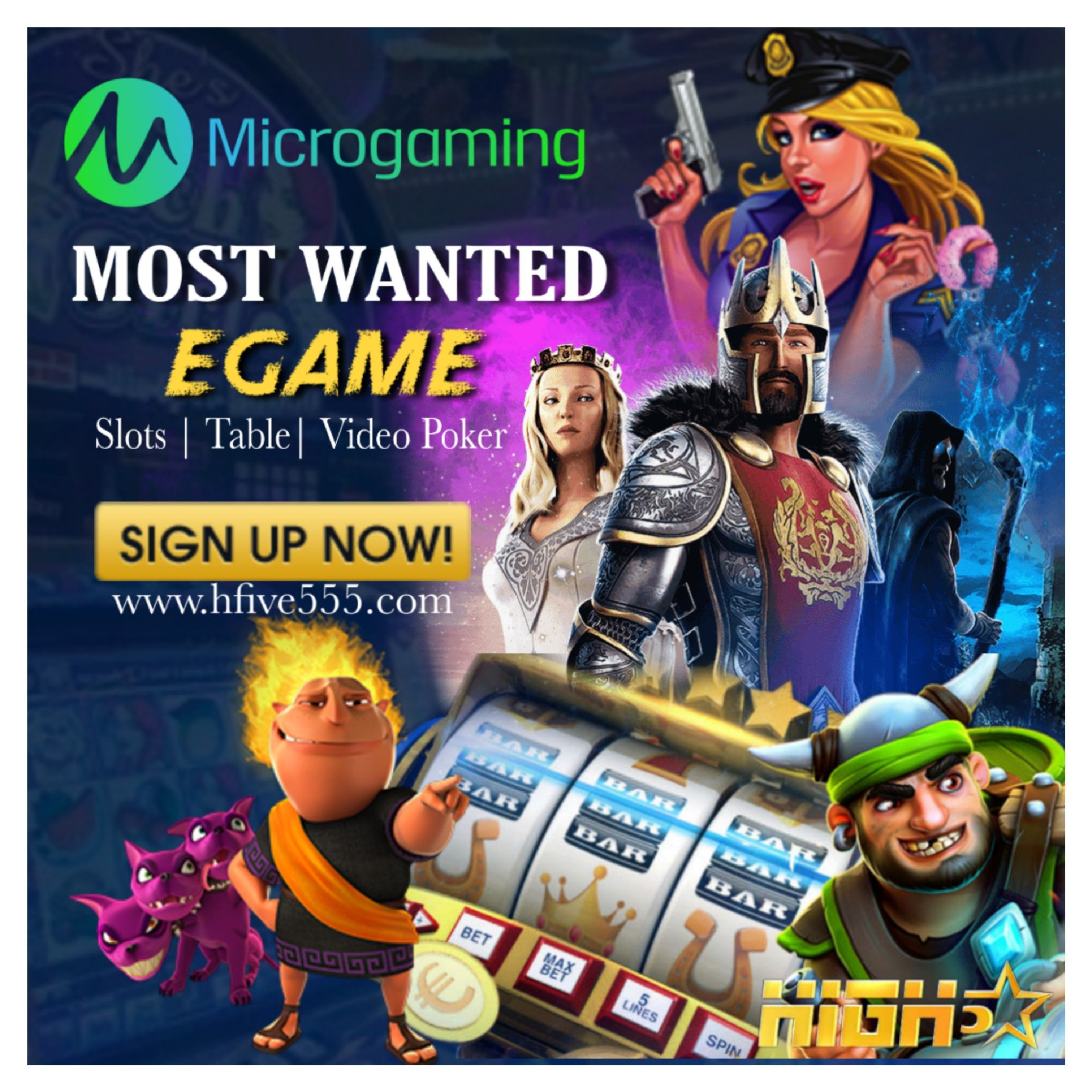 MICROGAMING🔥 Most wanted slot 🥰 Sign up now and get