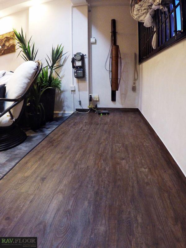 Dark Walnut Platform Jotterwood Vinyl Flooring Singapore Laminate Engineered Wood