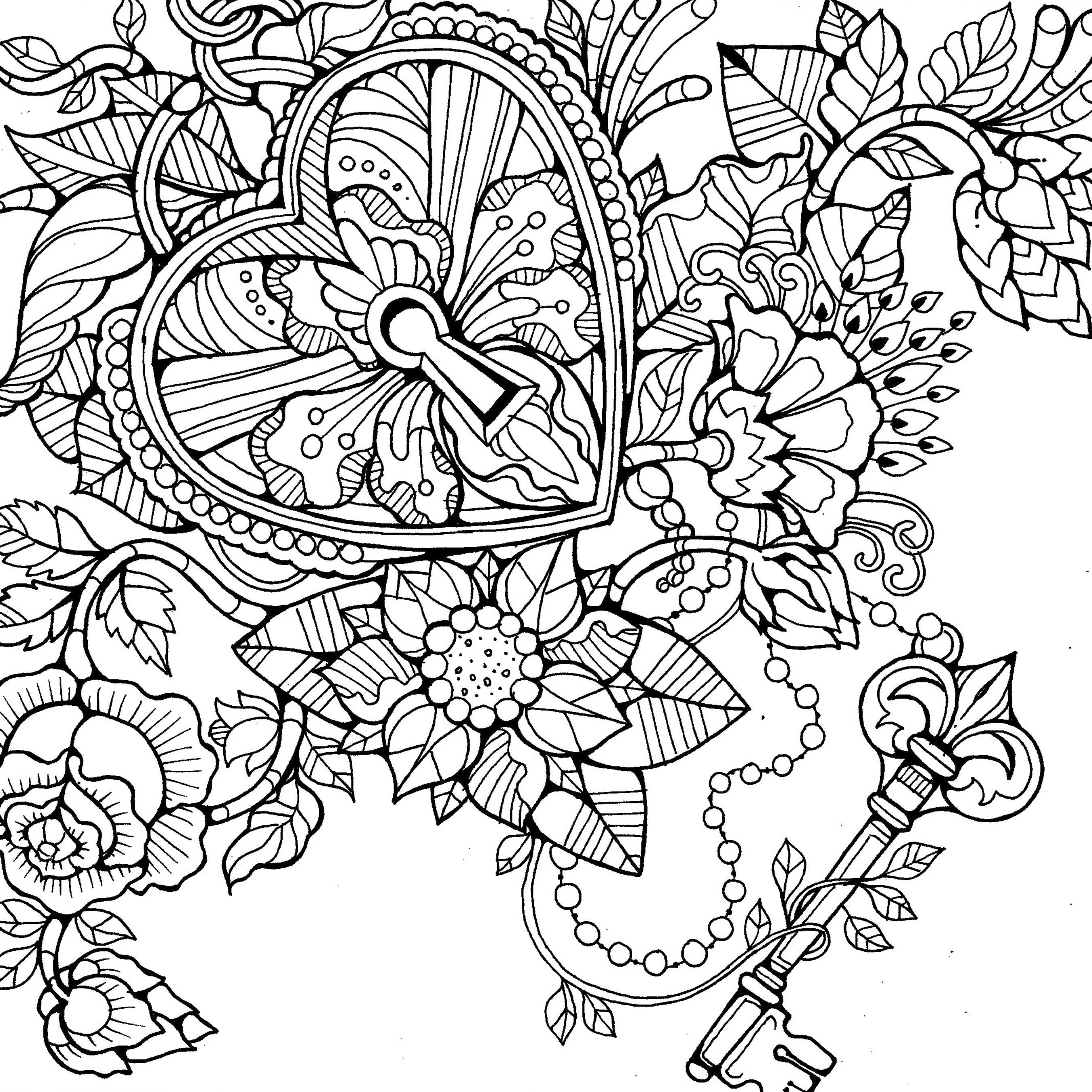 Colouring Pages by Dee Mans on Behance | verf | Pinterest ...