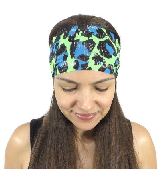 Yoga Headband Non Slip Workout Headband Wide Headband Summer Running Headband Women Headband Printed #yogaheadband
