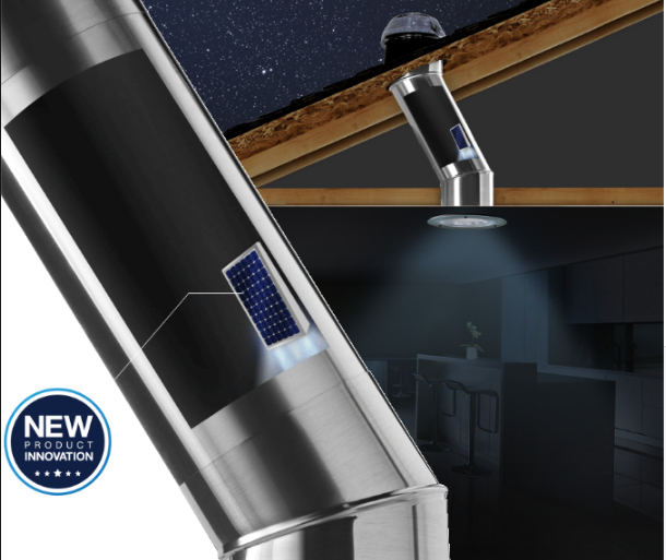 Introducing Our Newest Product Innovation The Solatube With Integrated Solar Nightlight Luces Solares Iluminacion Luces
