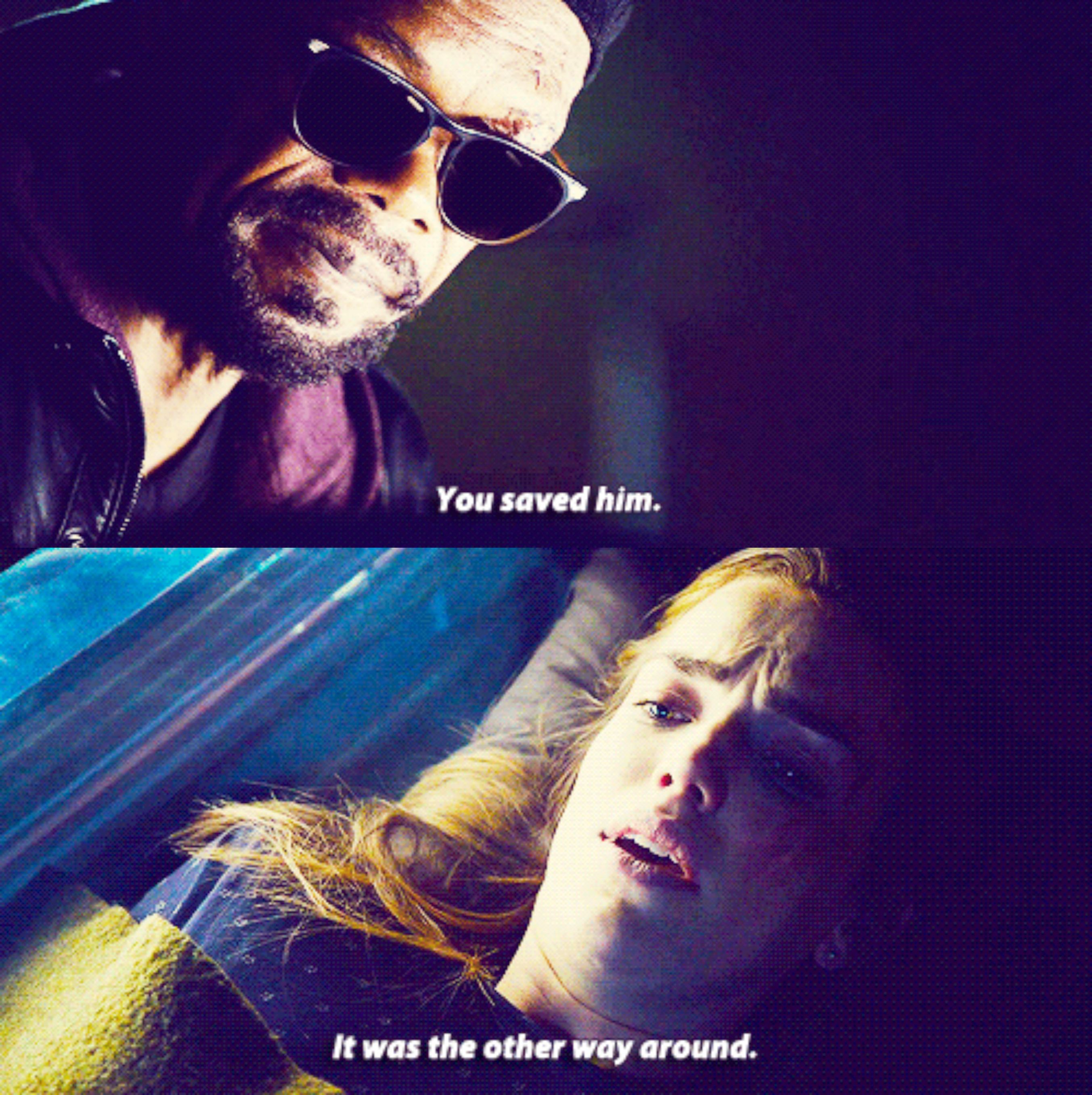 """""""It was the other way around."""" 