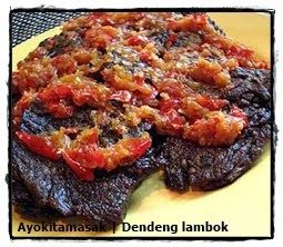 Resep Dendeng Lambok Khas Sumatra Barat Dendeng Resep Resep Daging Sapi