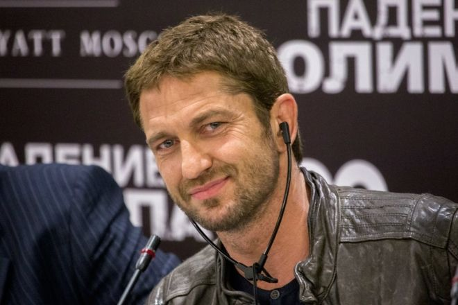 Gerry in Moscow for Olympus Has Fallen