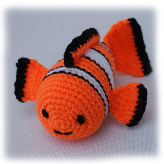 Clown Fish Stuffed Toy