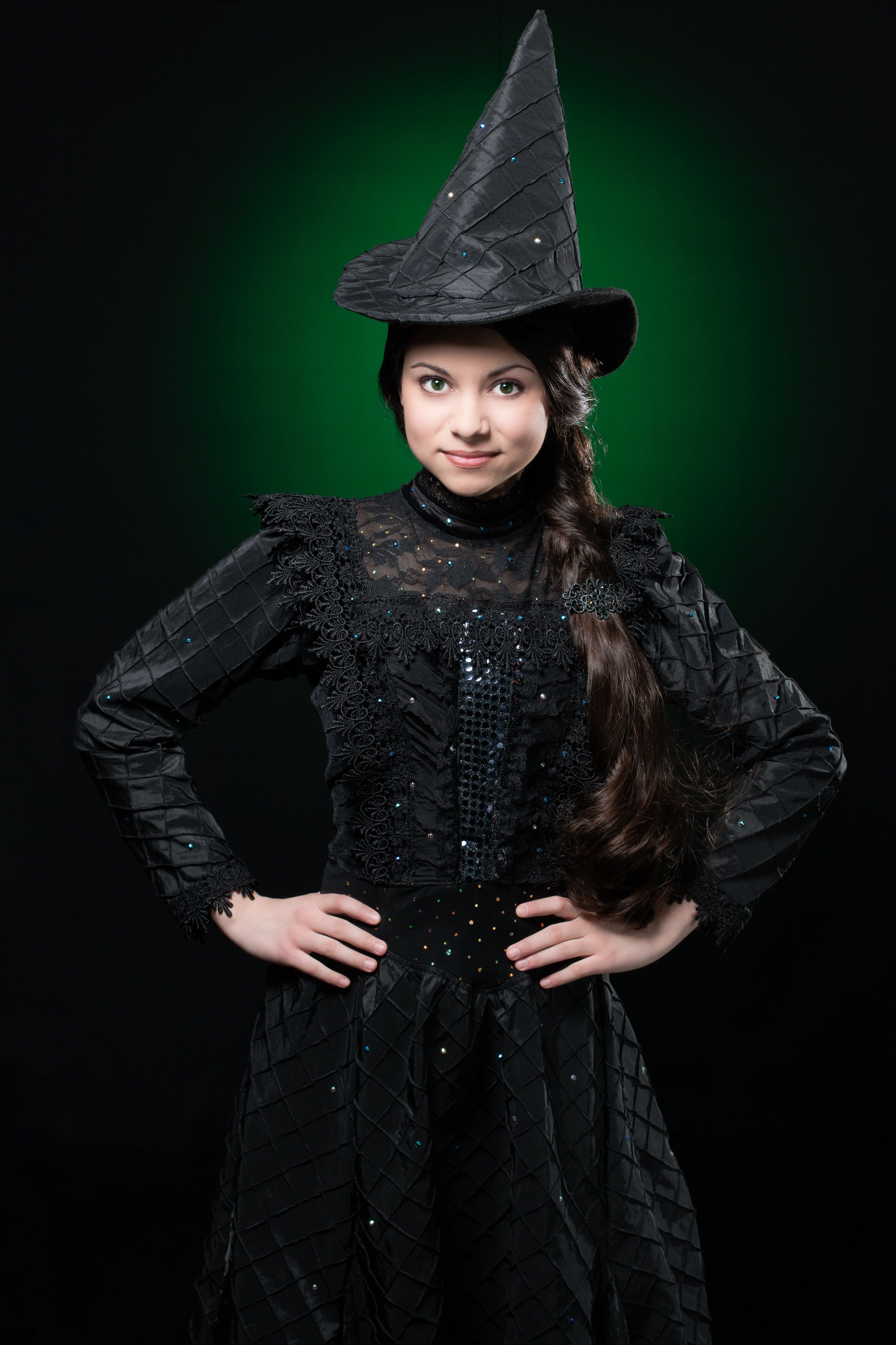 Deluxe Elphaba Wicked Witch of the West Costume Inspired by ...
