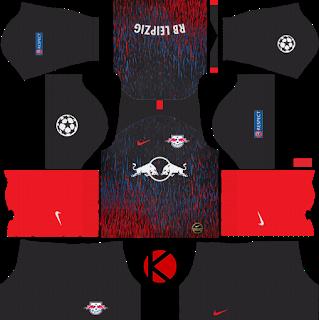 Rb Leipzig 2019 2020 Kit Dream League Soccer Kits Kits De Futebol Leao De Fogo Uniformes Futebol