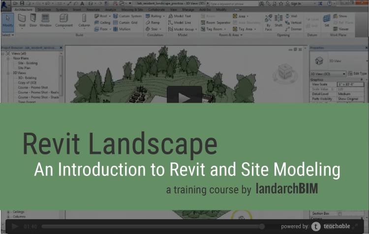 Landarchbim Landscape Architecture Diagram Landscape Architecture Design Revit Architecture