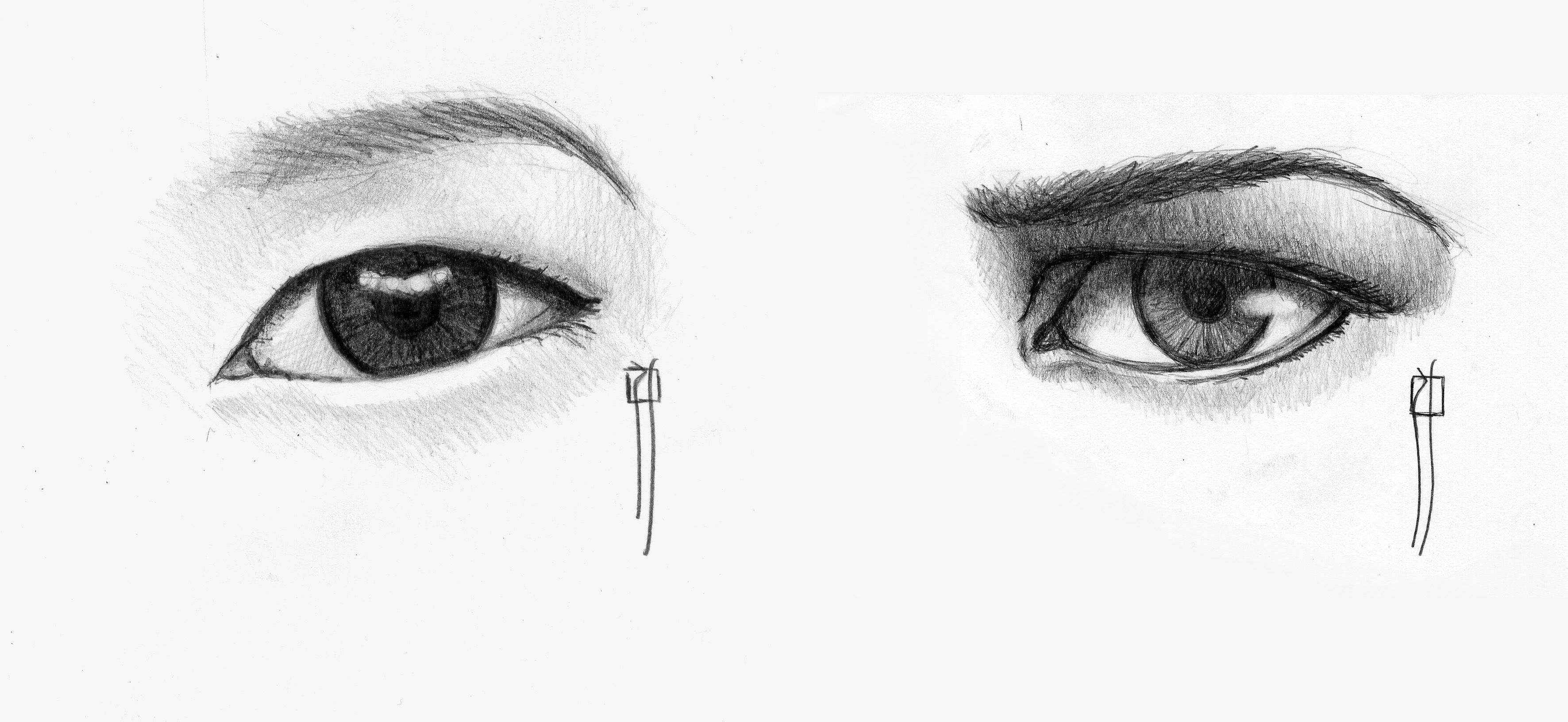 Asian Eye Shape Eye Art Asian Eyes Drawings