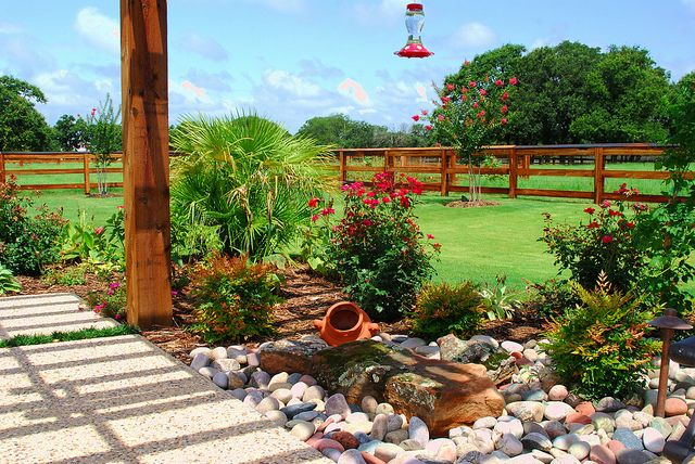 Home Landscaping Designs Colleyville Ranch Landscaping Ideas Landscape Design Landscaping With Rocks