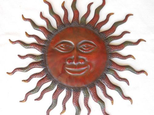 Southwest Wall Decor metal sun indoor or outdoor southwest wall decor sun | wall decor