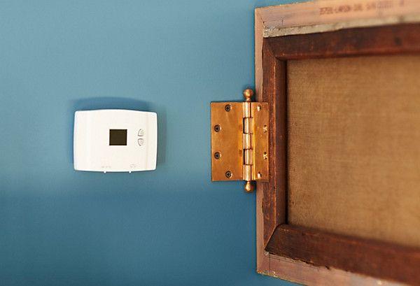 die besten 25 thermostat verstecken ideen auf pinterest thermostatabdeckung altes fenster. Black Bedroom Furniture Sets. Home Design Ideas