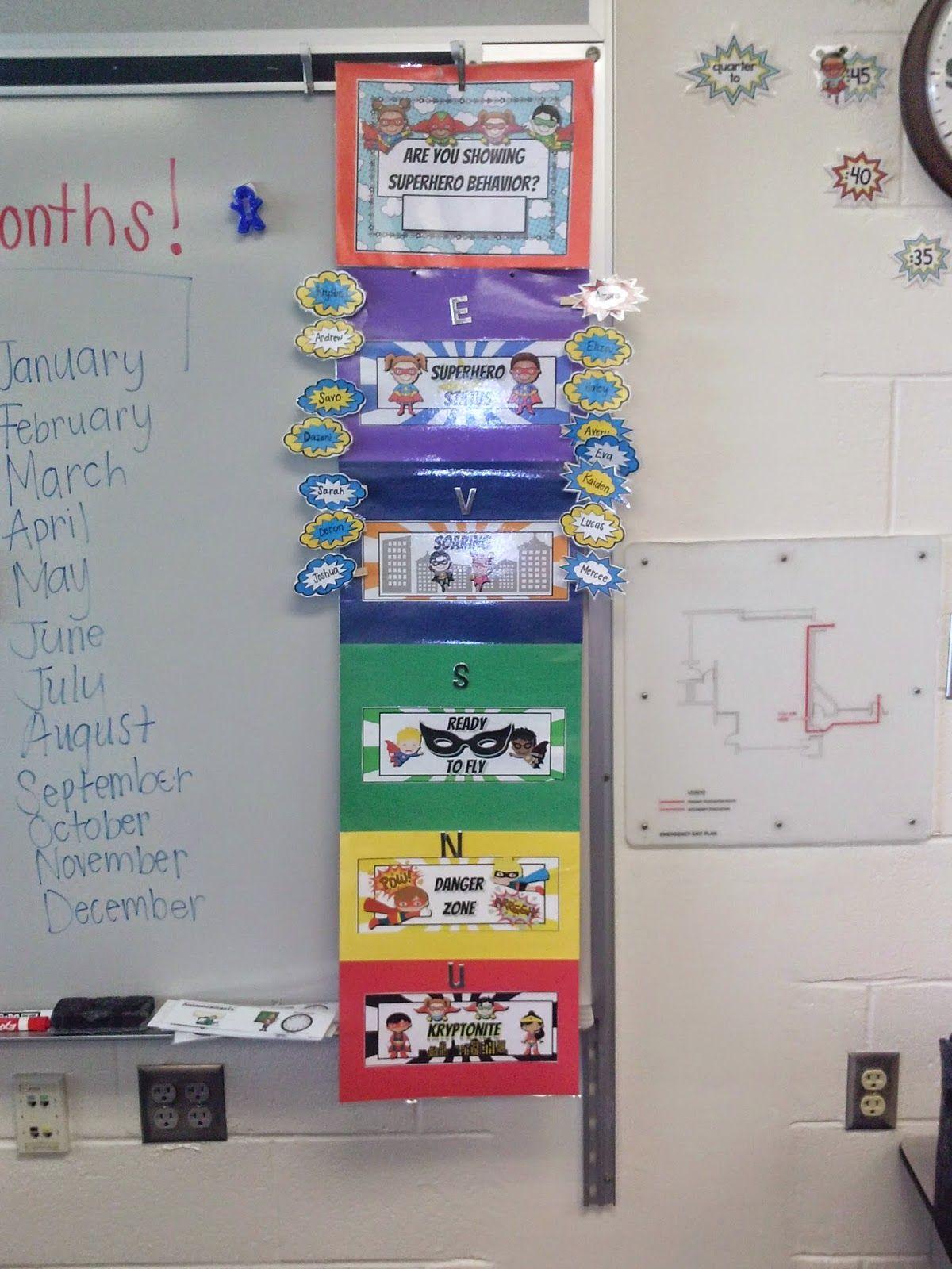 Our School Is Super Hero 2nd Grade Teacher S