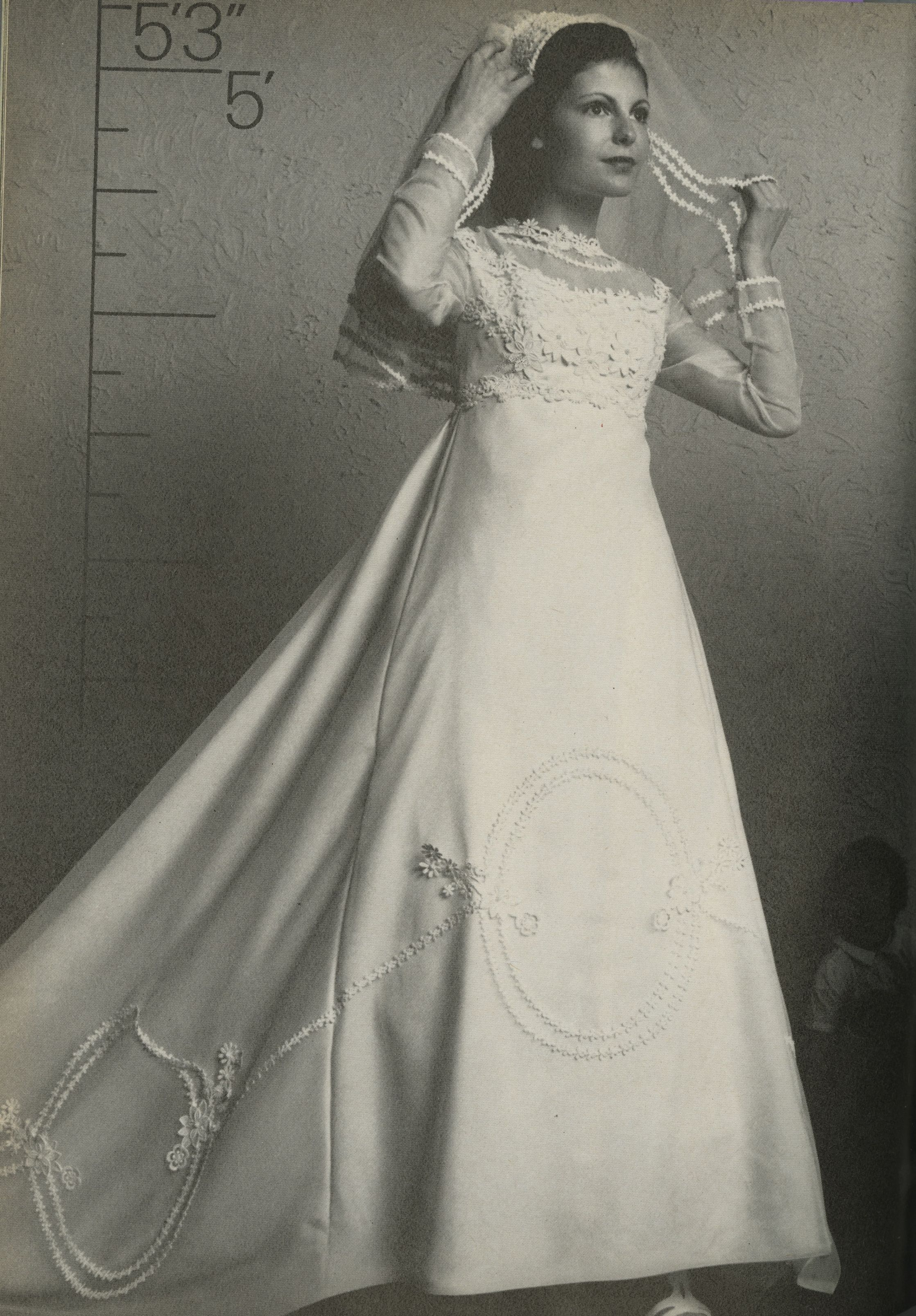 Alfred angelo vintage designer fashion bride ad from retro