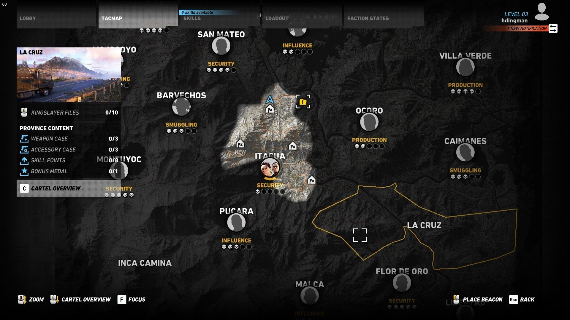 Ghost Recon Wildlands Mapa.Pin On Game Ui