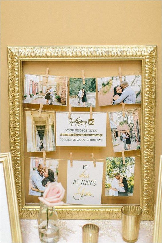 35 Vintage Frames Wedding Decor Ideas Wedding Reception