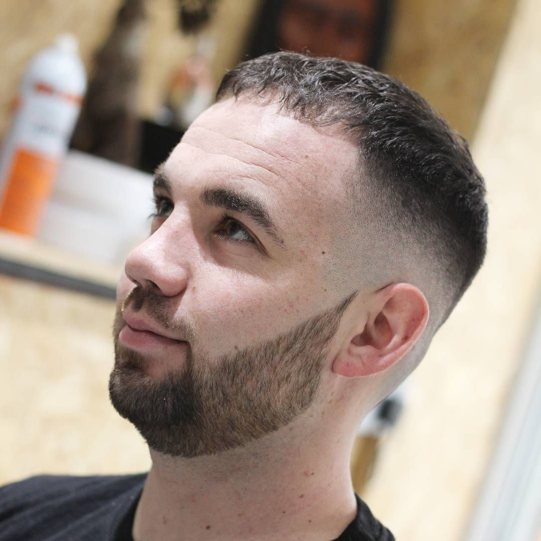 Mens haircuts with receding hairline the crop with bangs works for thin and thinning hair menshair