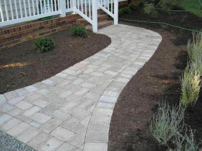 24++ Backyard paver walkway ideas info