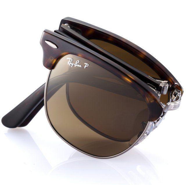39cf992a75af0 Ray-Ban folding Clubmaster sunglasses Venda De Óculos De Sol Ray Ban