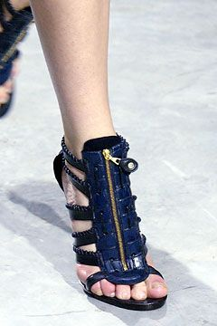 Balenciaga gladiator booties