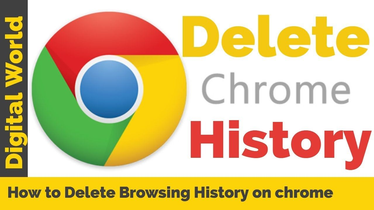 How to Delete Browsing History on chrome (Cookies and