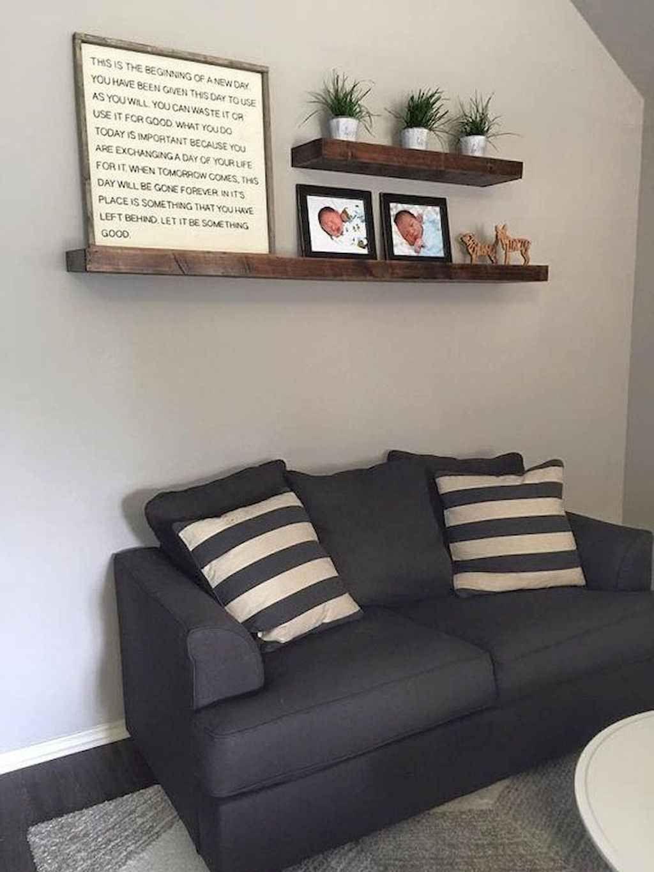 50 Diy Floating Shelves For Living Room Decorating Gladecor Com Floating Shelves Living Room Living Room Shelves Floating Shelves