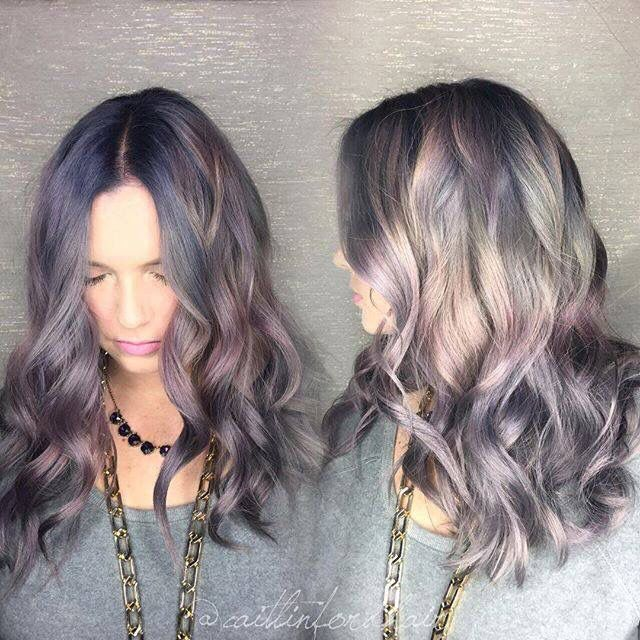 Smokey amethyst hair