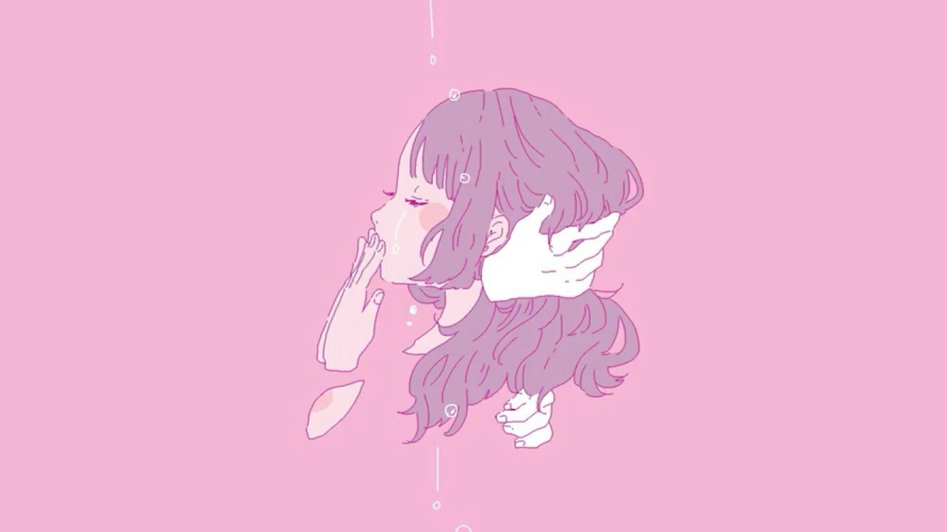 Pin By Kite On Aesthetic Aesthetic Anime Aesthetic Desktop Wallpaper Pastel Pink Aesthetic