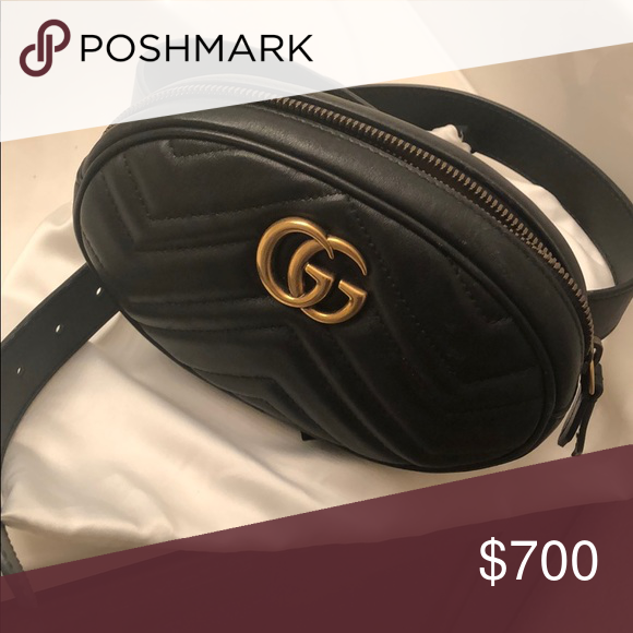 5ea3d8e35256 Gucci belt bag It's a cute little bag you can wear around your waist. Gucci  Bags Mini Bags