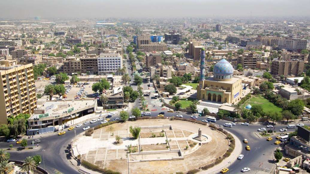 Baghdad capital city of Iraq