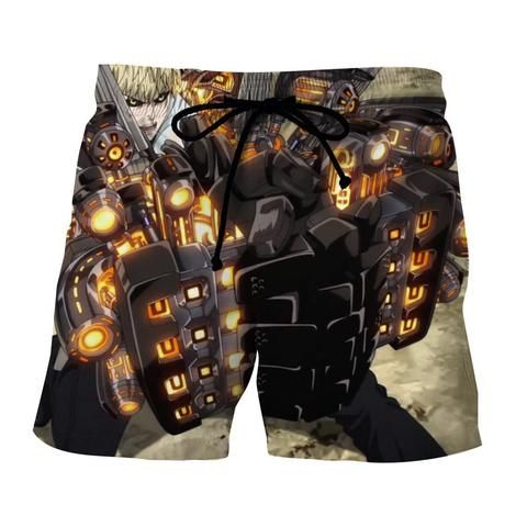 ec513f3dc8 One-Punch Man Genos Incineration Cannons 3D Print Short #anime #shorts # boardshorts