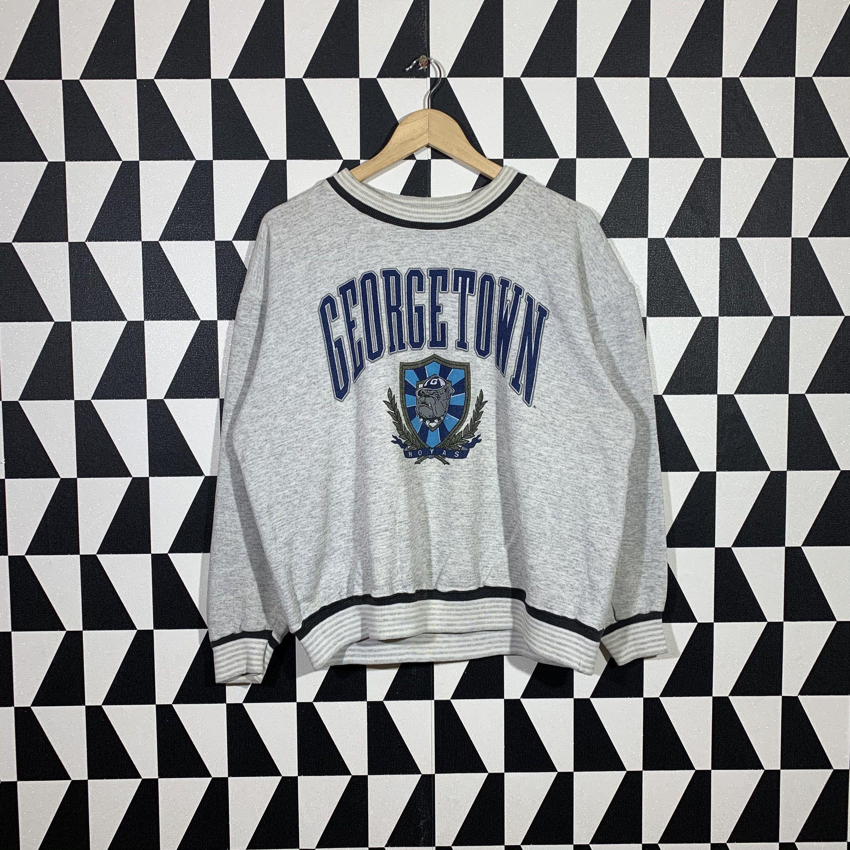 Vintage 90s Georgetown University Sweatshirt Georgetown Etsy University Sweatshirts Sweatshirts Print Logo [ 3000 x 3000 Pixel ]