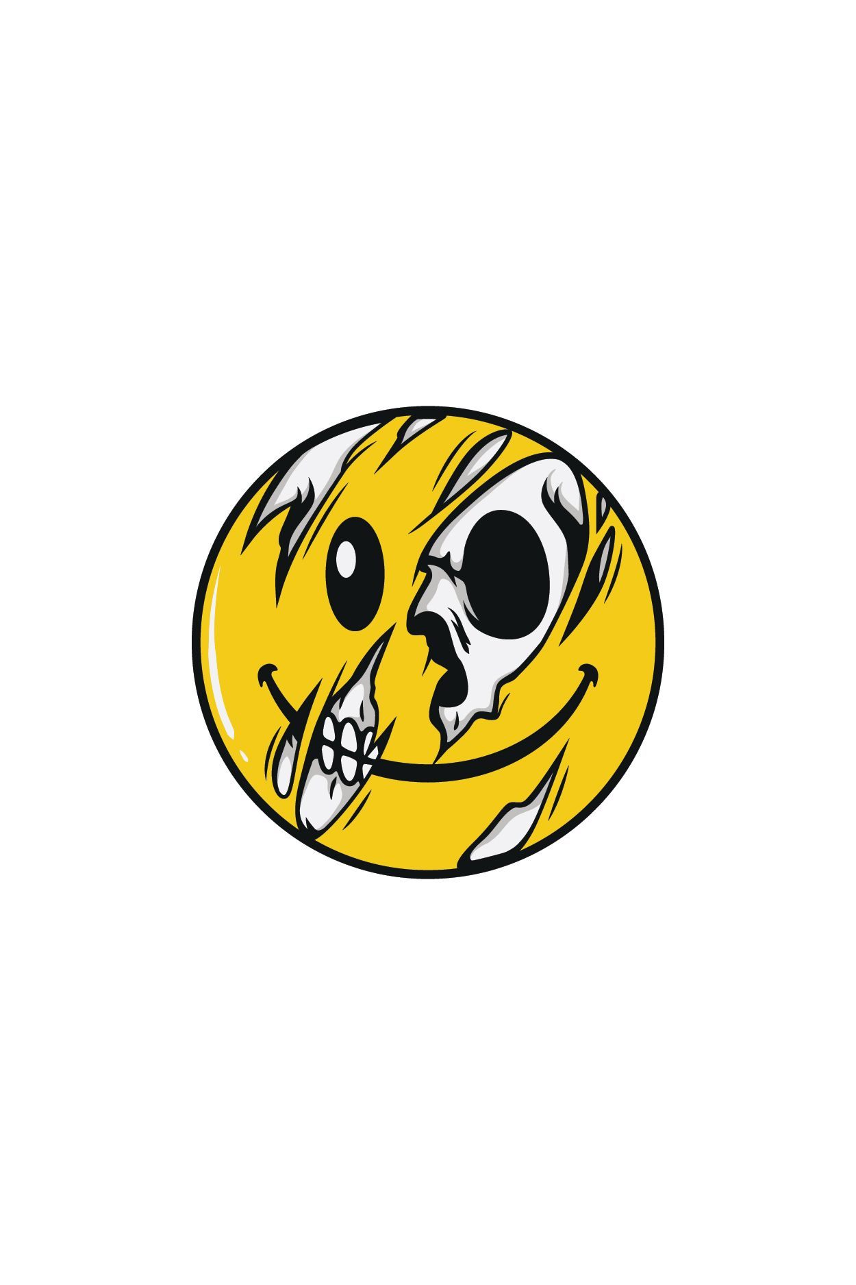 Pin By Valerie Barba On Random Skull Illustration Graphic Tshirt Design Skull Art