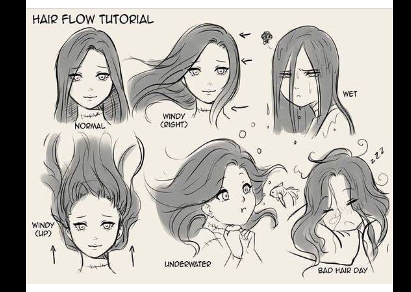 Pin By Turtlemurmurs On Hair Draw Drawing Techniques How To Draw Hair Art Sketches