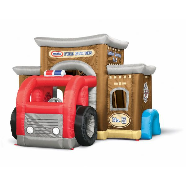 Little Tikes inflatable fire house!