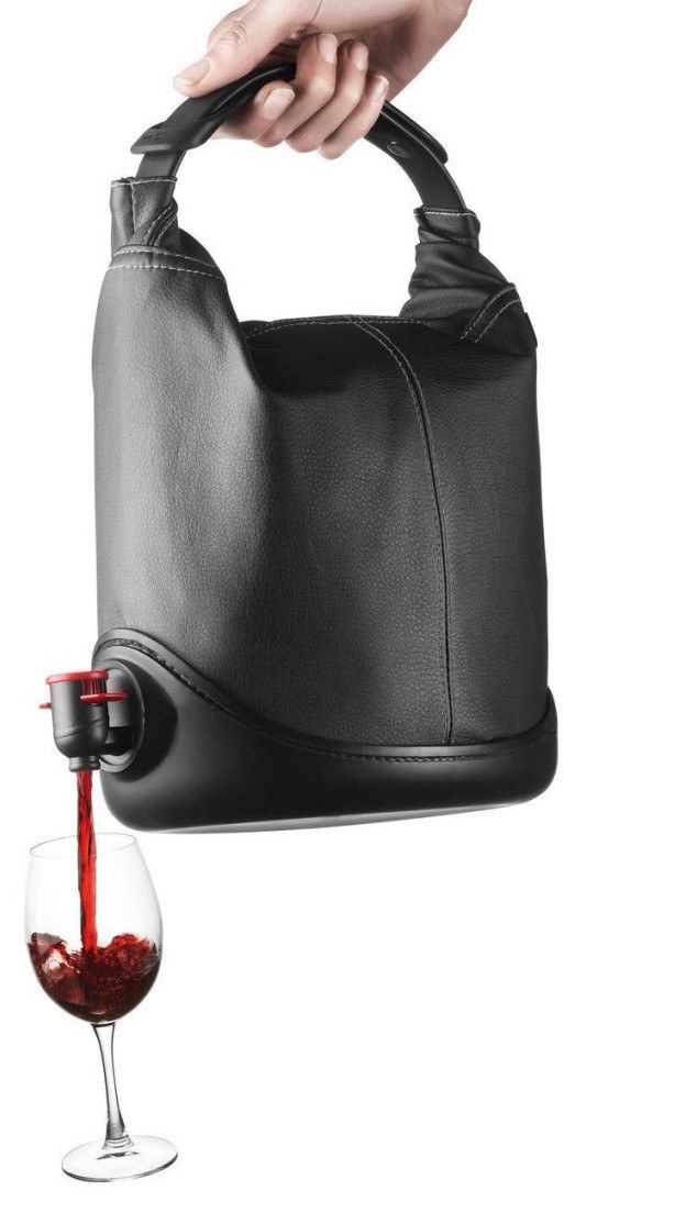A Wine Dispensing Purse To Keep