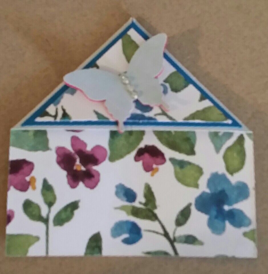 Painted Blooms DPS bookmark