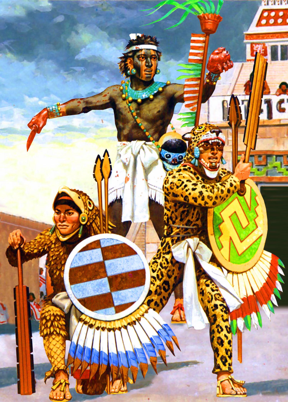 Aztec warriors aztec warrior aztec art aztec empire